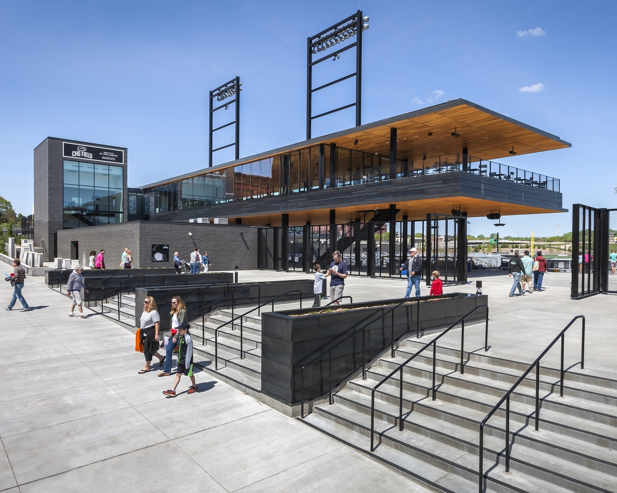 AIA Names 18 Projects As Best New Architecture In US,CHS Field / Snow  Kreilich