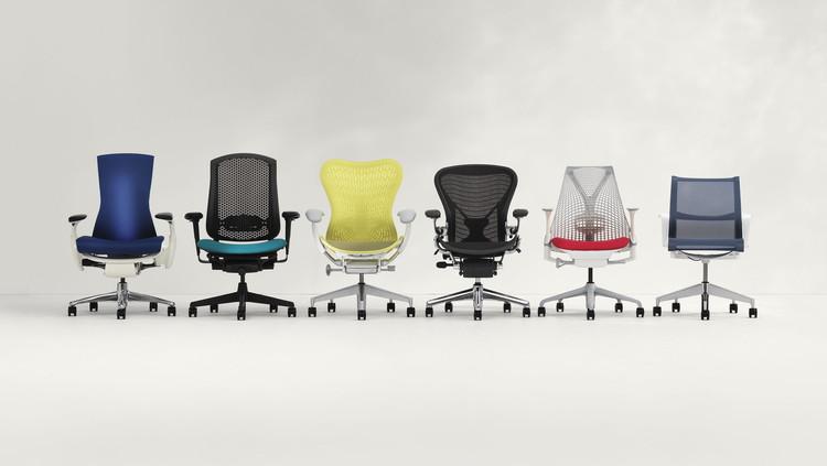 Mobiliário corporativo: 6 cadeiras que melhoram sua postura ao trabalhar, via Herman Miller