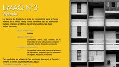 Convocatoria Revista Limaq N°3