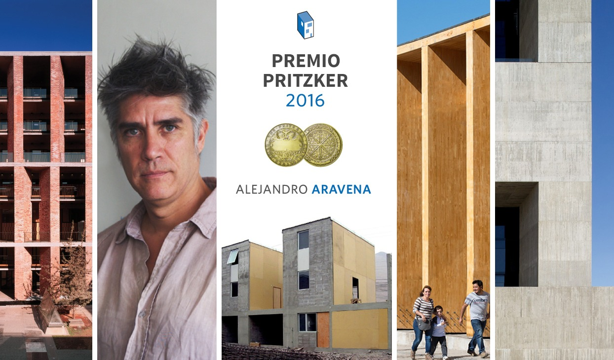Alejandro Aravena recibe el Premio Pritzker 2016