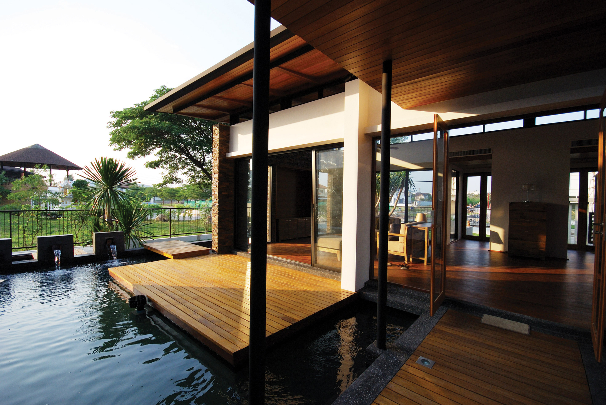 nature shui feng architect modern designs water archdaily junsekino feels floating its dornob 文章 出處