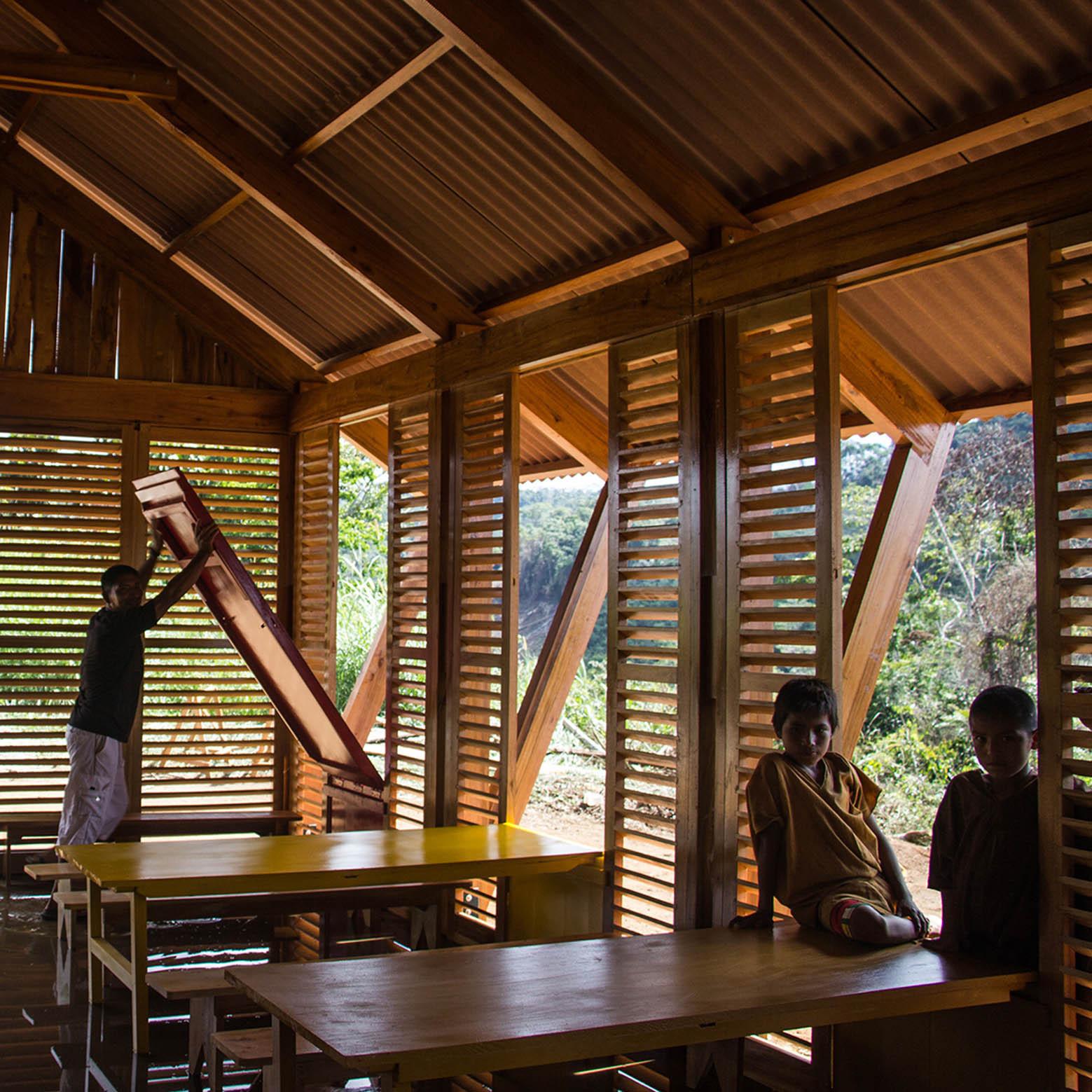 Tropical Bamboo House