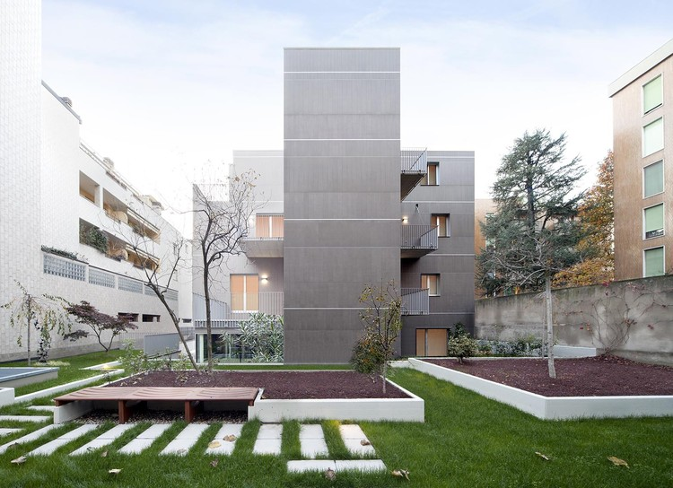 Residential Building in Via Bellincione / DAP Studio, © Barbara Corsico