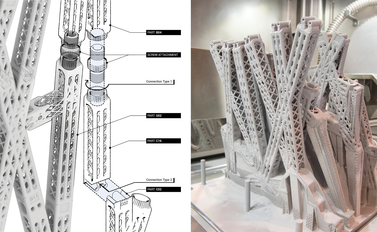 Gallery of The Living\'s 3D Printed Airplane Partition is Designed to ...