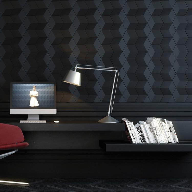 Materiales: paneles tridimensionales para interiores, ARSTYL® WALL PANELS CUBE. Image Cortesía de Busel