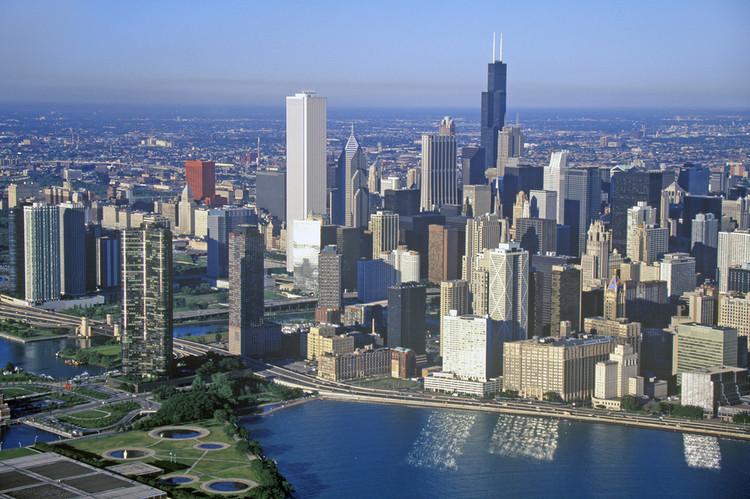 Explora el skyline de Chicago con este gráfico interactivo, © Joseph Sohm / shutterstock.com