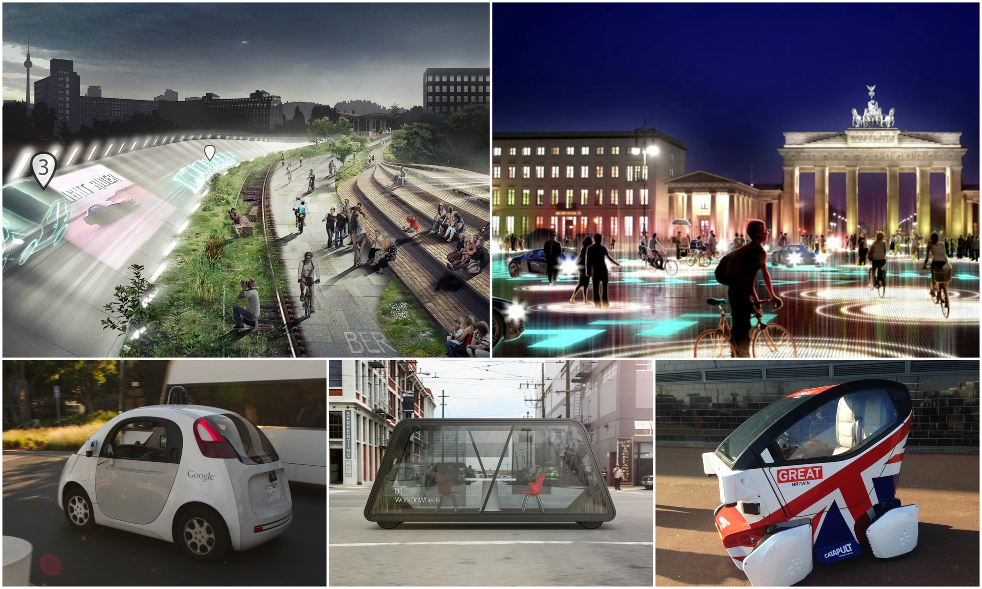 How Driverless Cars Could, Should - and Shouldn't - Reshape Our Cities | ArchDaily