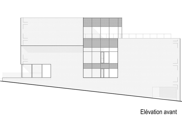 Floor Elevation Difference : Mont saint roch calimùcho architecture office archdaily