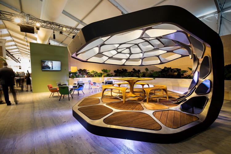 Zaha Hadid e Sou Fujimoto entre os 30 que irão projetar os Pavilhões Pré-Fabricados para Revolution PreCraft, VOLU Dining Pavilion na Design Miami. Imagem Cortesia de Revolution PreCraft