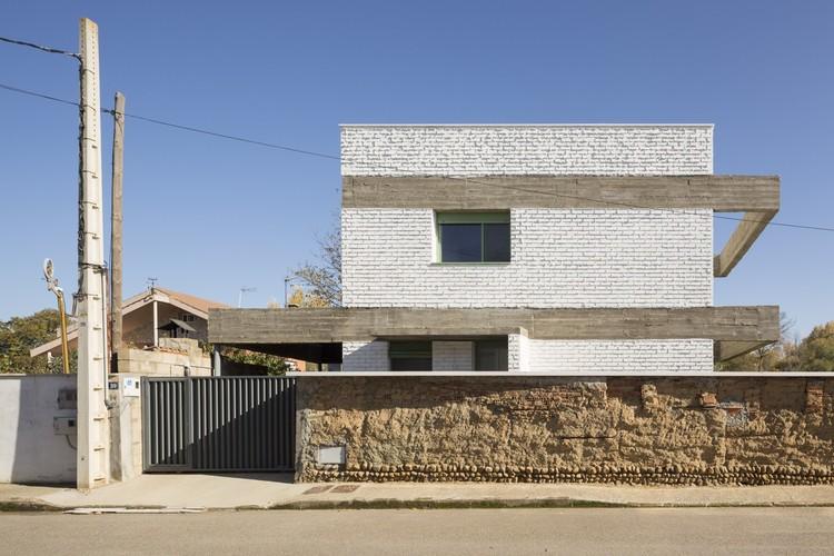 Casa en un huerto / Javier Ramos Morán + Moisés Puente Rodríguez, © Luís Díaz Díaz
