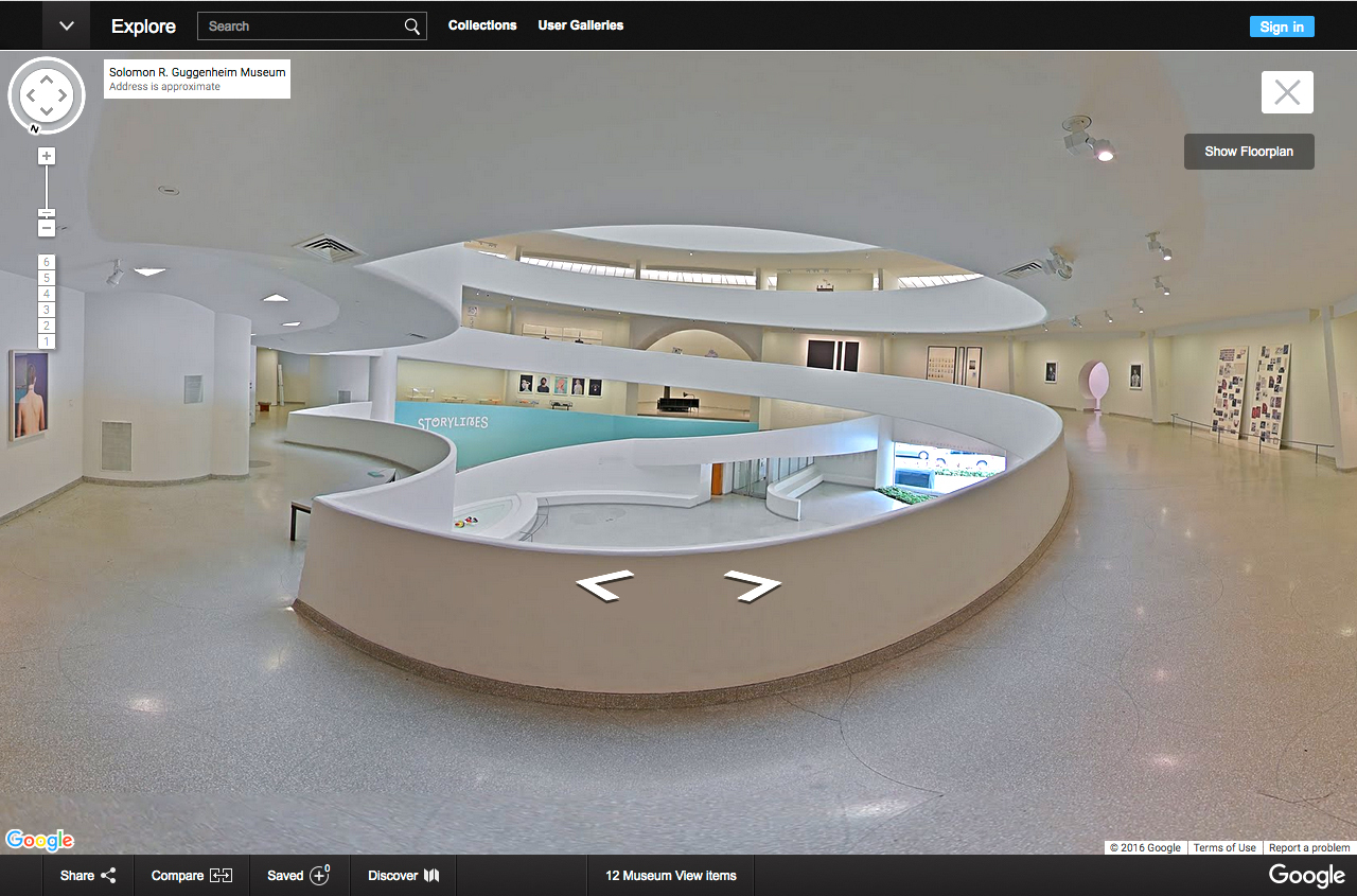 Best Image Walk Inside: Google Cultural Institute Puts New Yorks Guggenheim On The Map