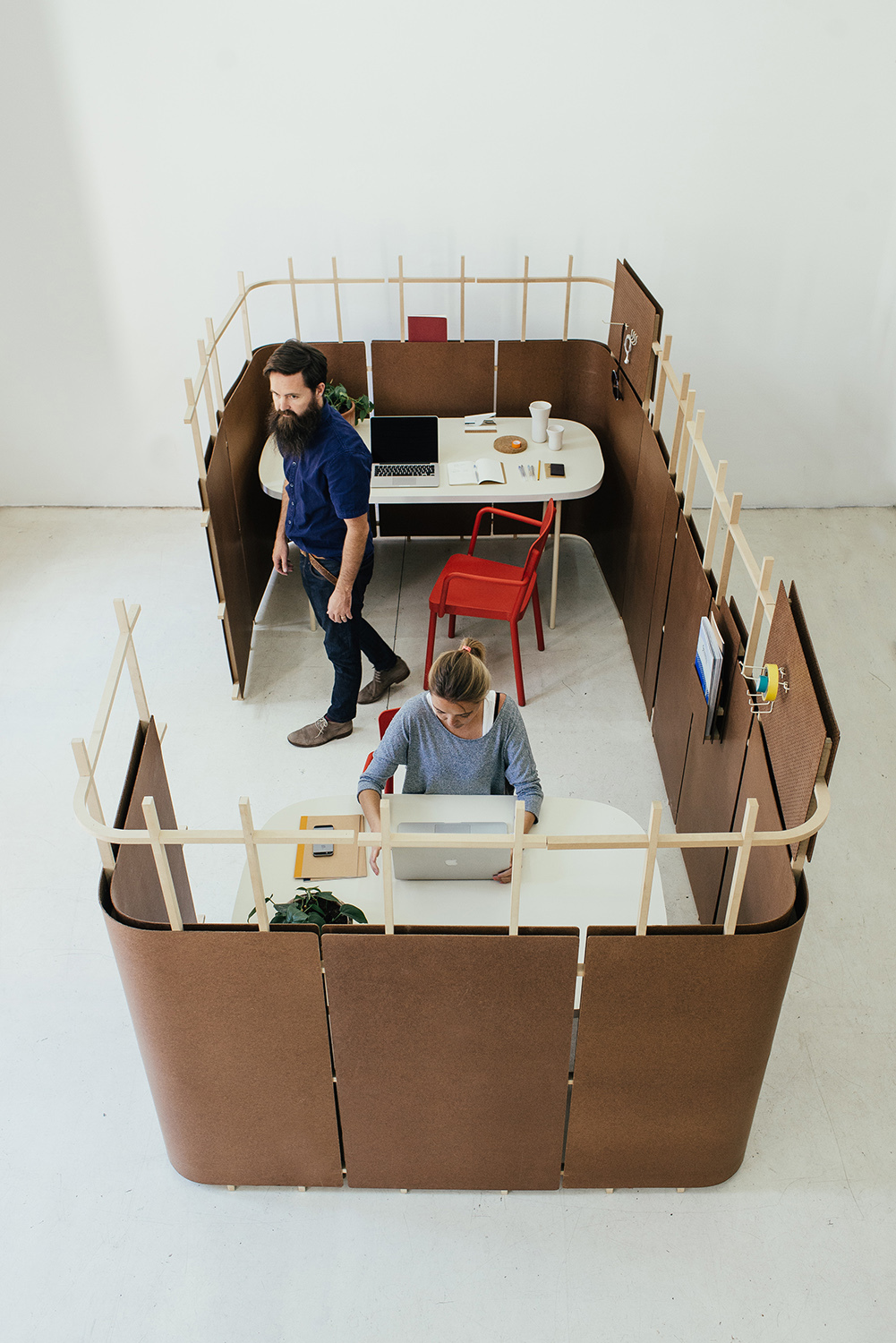 office separators. How The Andes House\u0027s Ensamble Project Uses Hardboard To Create Workspaces | ArchDaily Office Separators O