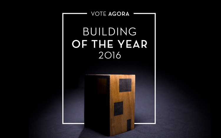 Vote em seus projetos favoritos para o Building of the Year Awards 2016