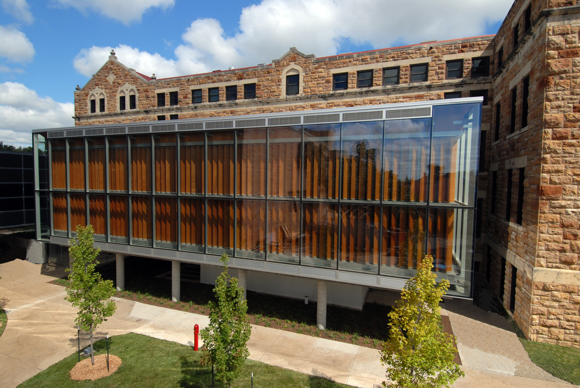 Beautiful University Of Kansas, The Forum At Marvin Hall, 2014. Image Courtesy Of  Studio