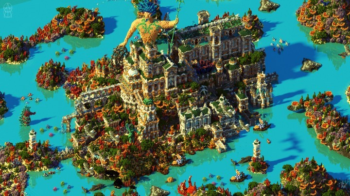 gallery of 15 incredible architectural feats made in minecraft 4