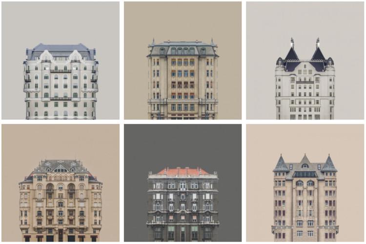 Zsolt Hlinka's Urban Symmetry Photographs Reimagine Danube River Architecture , © Zsolt Hlinka
