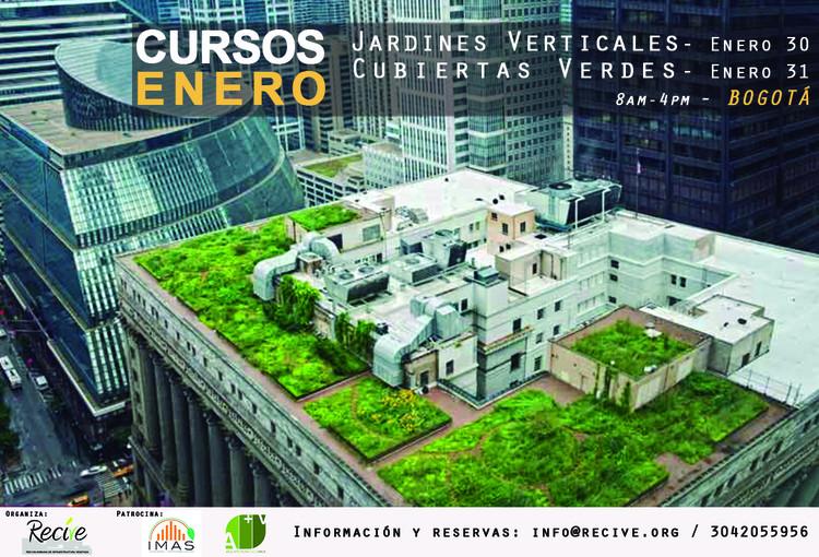 Curso de Jardines Verticales y Cubiertas Verdes