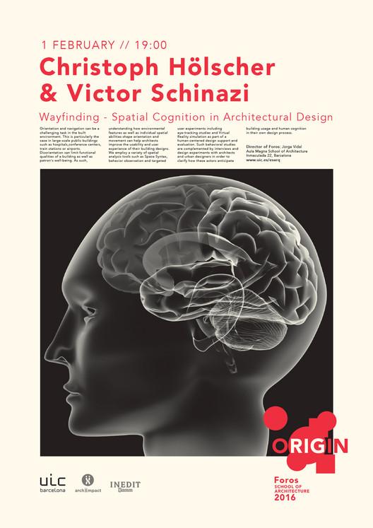Foros 2016 ORIGIN: conferencia de Christoph Hölscher y Victor Schinazi