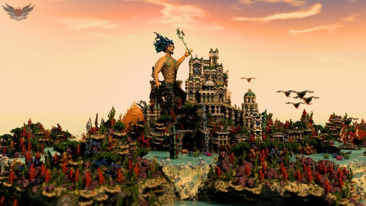 gallery of 15 incredible architectural feats made in minecraft 59