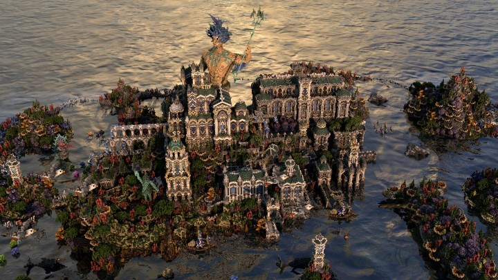 gallery of 15 incredible architectural feats made in minecraft 58