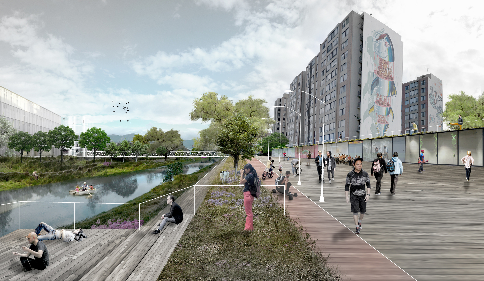 Mobo architects ecopolis concreta dise ar n la for Estudios de arquitectura bogota