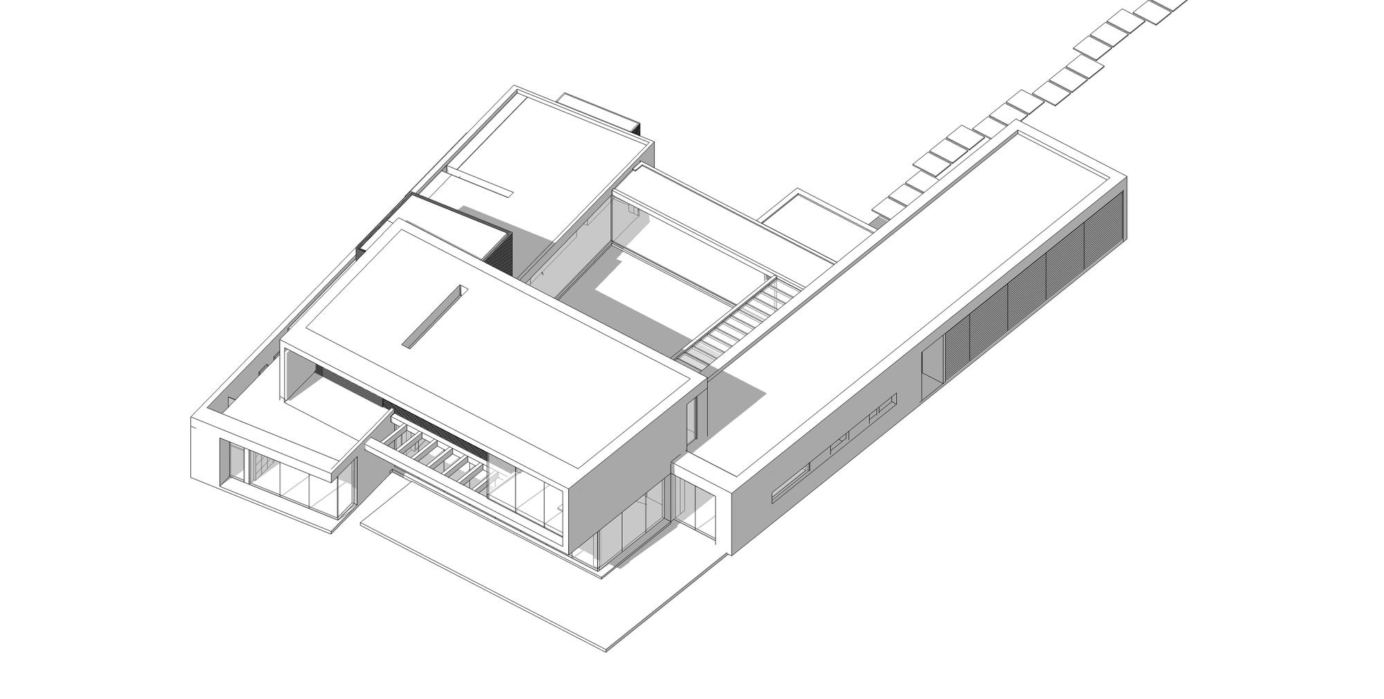 Galer a de casa 5 arquitectura en estudio 15 for Casa estudio arquitectura
