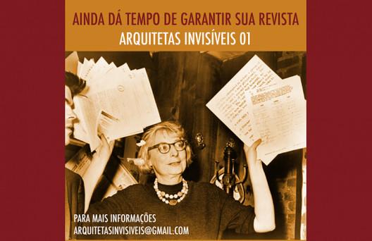 Primeira edição da revista Arquitetas Invisíveis será lançada em abril, via CAU/BR