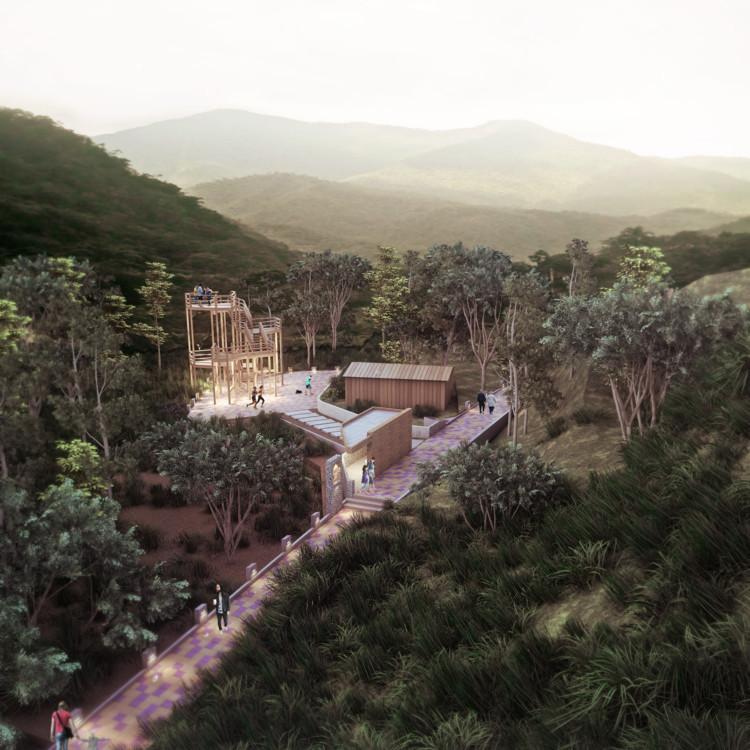 Comienza construcción en Ecuador de sendero ecológico diseñado por Estudio 685, Cortesía de Estudio 685