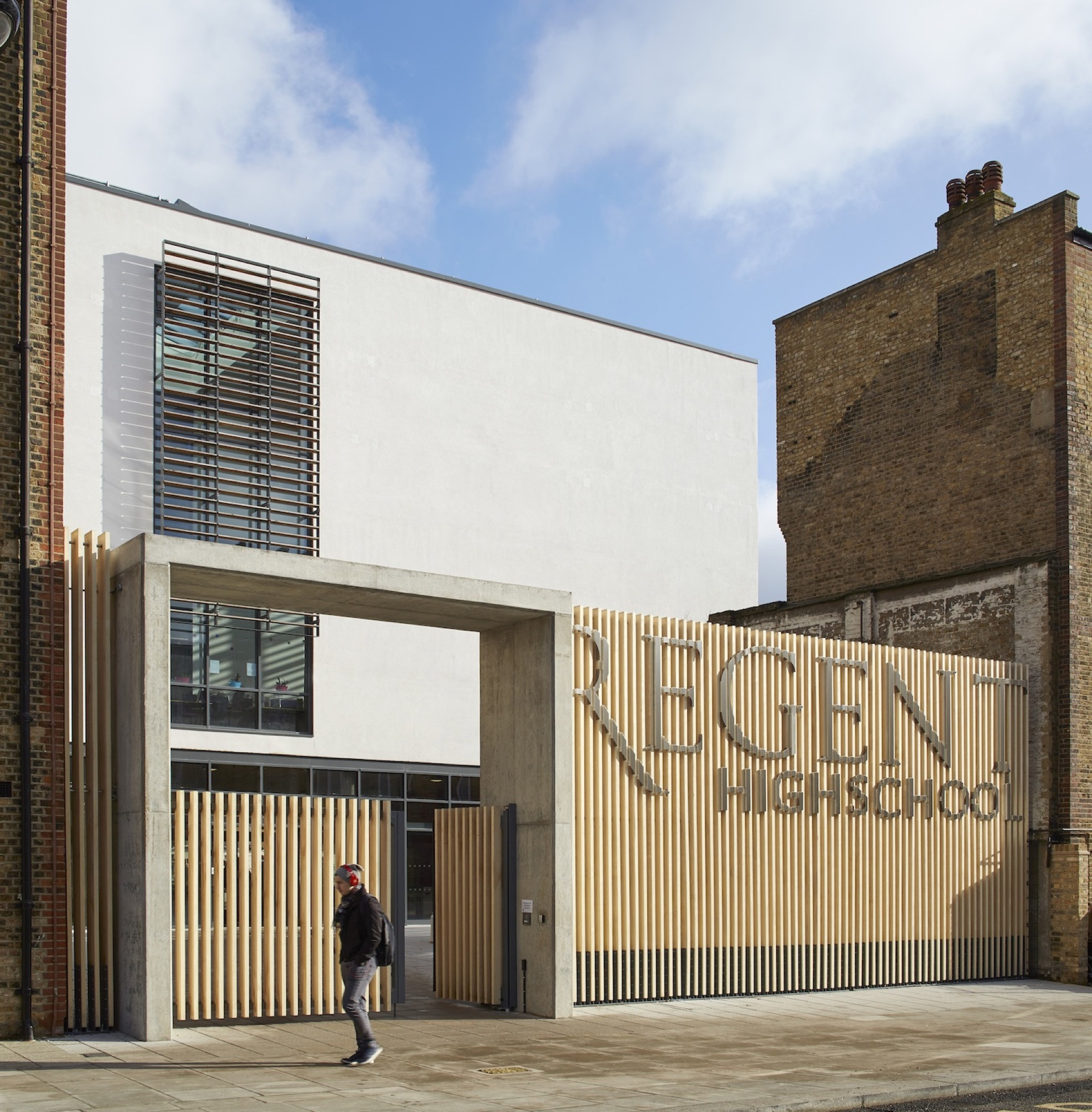 Regent High School Walters Amp Cohen Archdaily