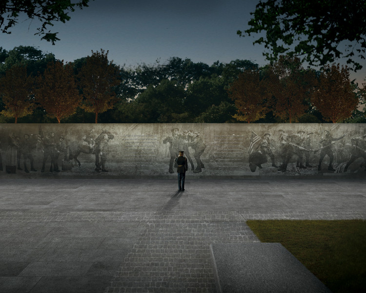 Comissão do Centenário da Primeira Guerra Mundial escolhe projeto vencedor para seu memorial em Washington D.C., Cortesia da Comissão do Centenário da Primeira Guerra Mundial
