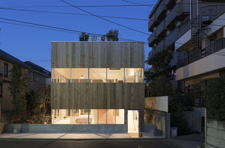 Nerima House / Elding Oscarson, © Kenichi Suzuki