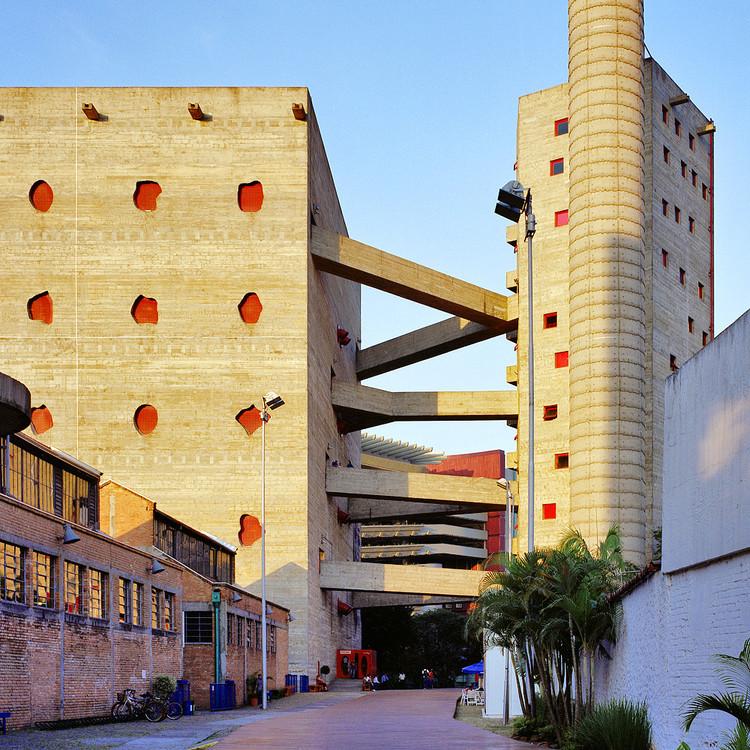 The Guardian elege Sesc Pompeia entre os dez melhores edifícios de concreto do mundo, Sesc Pompeia, São Paulo. Image © Pedro Kok