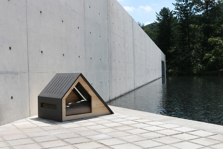 Minimalist, Enviable Snap-Together Dog Houses from Bad Marlon, Deauville. Image © BAD MARLON via Fast Company