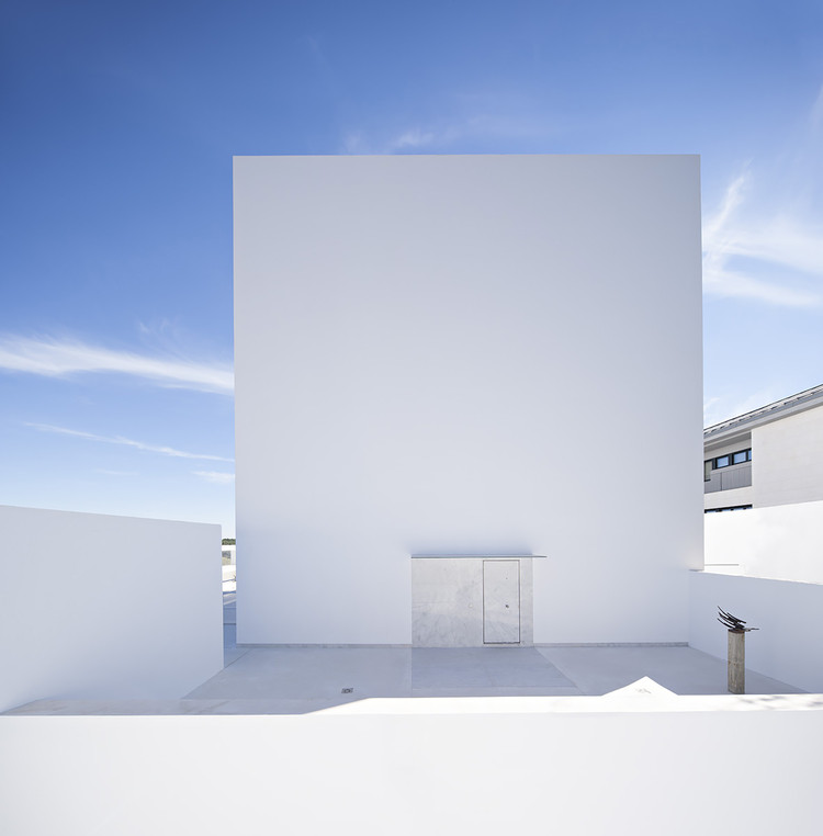 Casa Raumplan  / Alberto Campo Baeza, © Javier Callejas