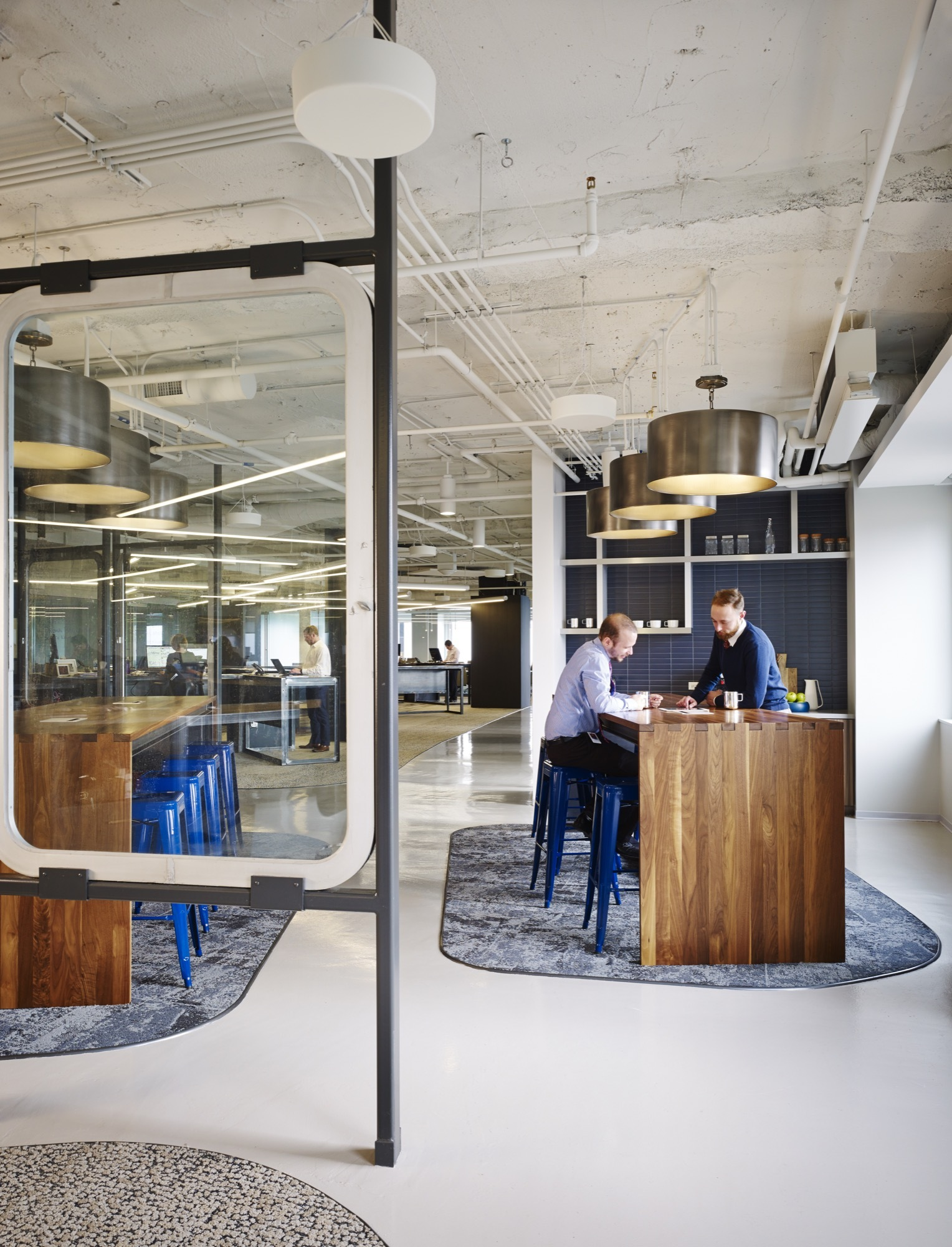 Prescient offices perkins will archdaily - Top interior design firms chicago ...