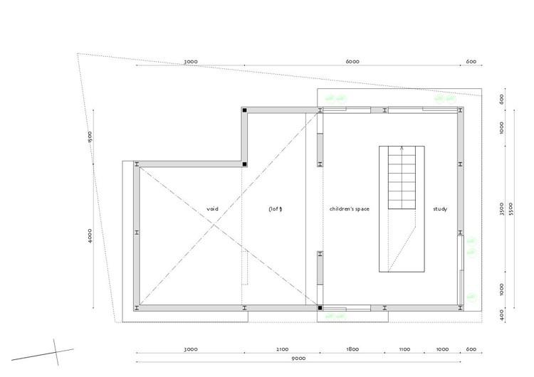 The corner house in kitashirakawa ume architects archdaily for 100 floor level 58