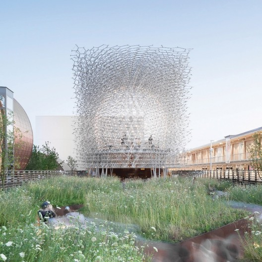 UK Pavilion - Milan Expo 2015 / Wolfgang Buttress. Image Courtesy of Kew