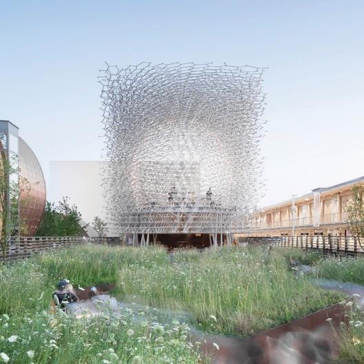 UK Pavilion - Milan Expo 2015 / Wolfgang Buttress. Image Courtesy of Kew