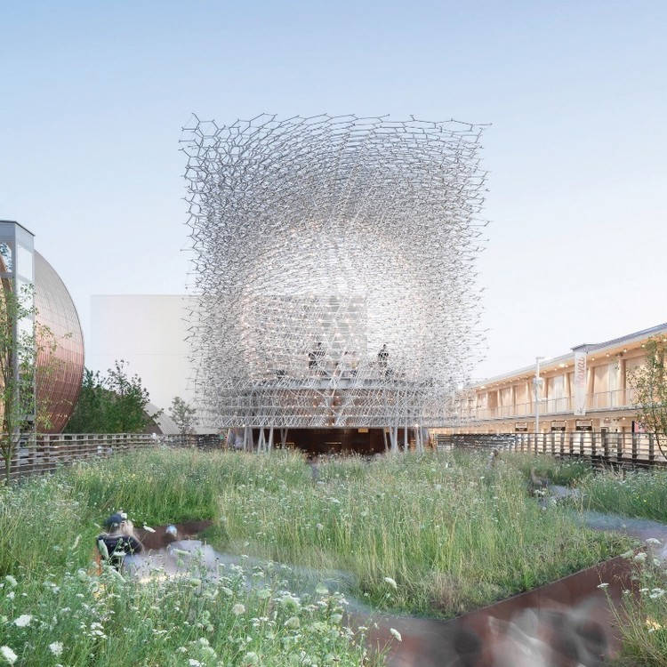 "Wolfgang Buttress' Celebrated UK Pavilion, ""The Hive"" Moves to Kew Gardens, UK Pavilion - Milan Expo 2015 / Wolfgang Buttress. Image Courtesy of Kew"