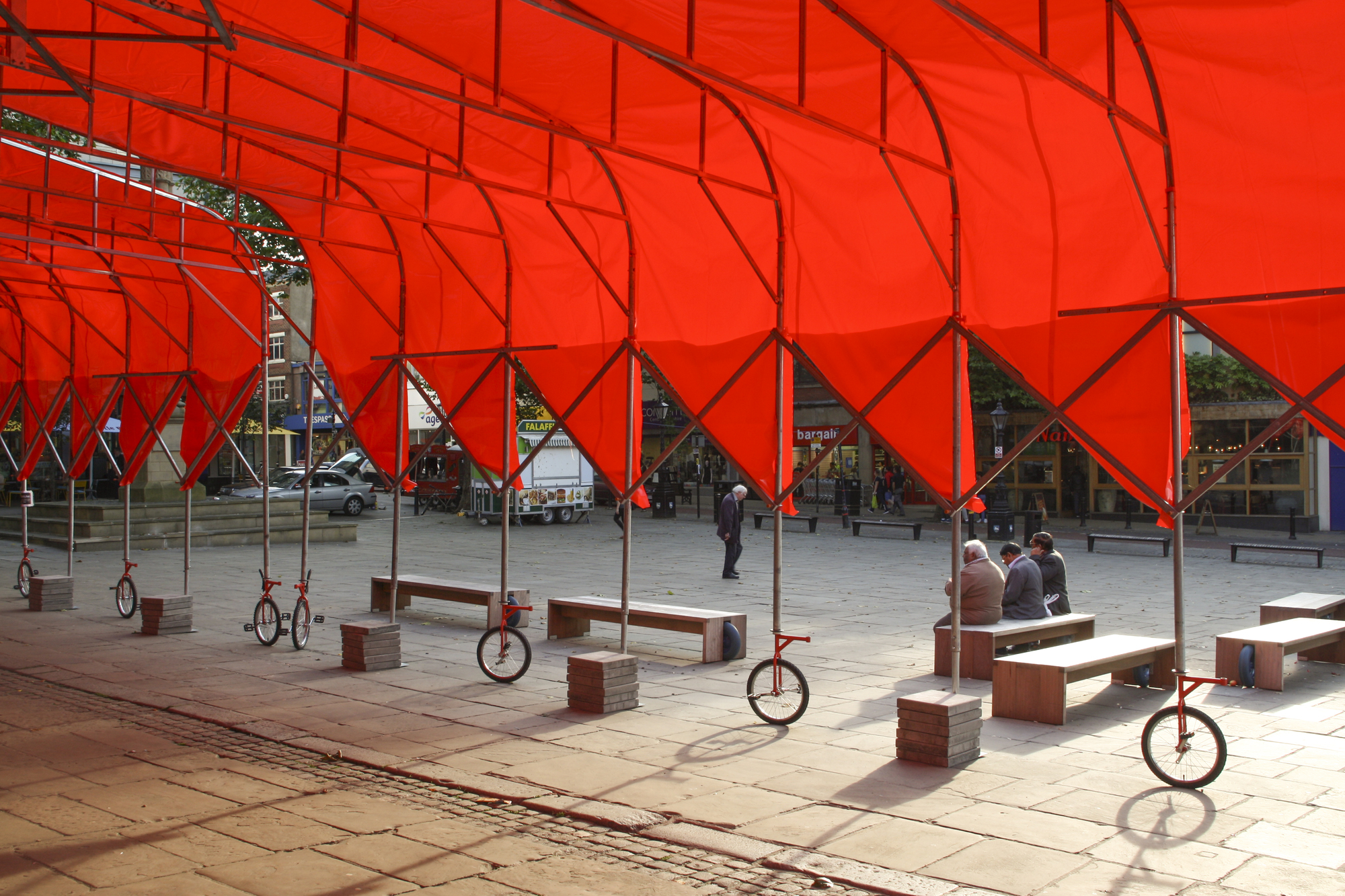 ICP & Peopleu0027s Canopy / Peopleu0027s Architecture Office | ArchDaily