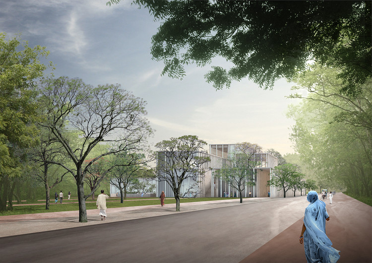 Work Begins on David Chipperfield's Mughal Museum in India , © David Chipperfield Architects