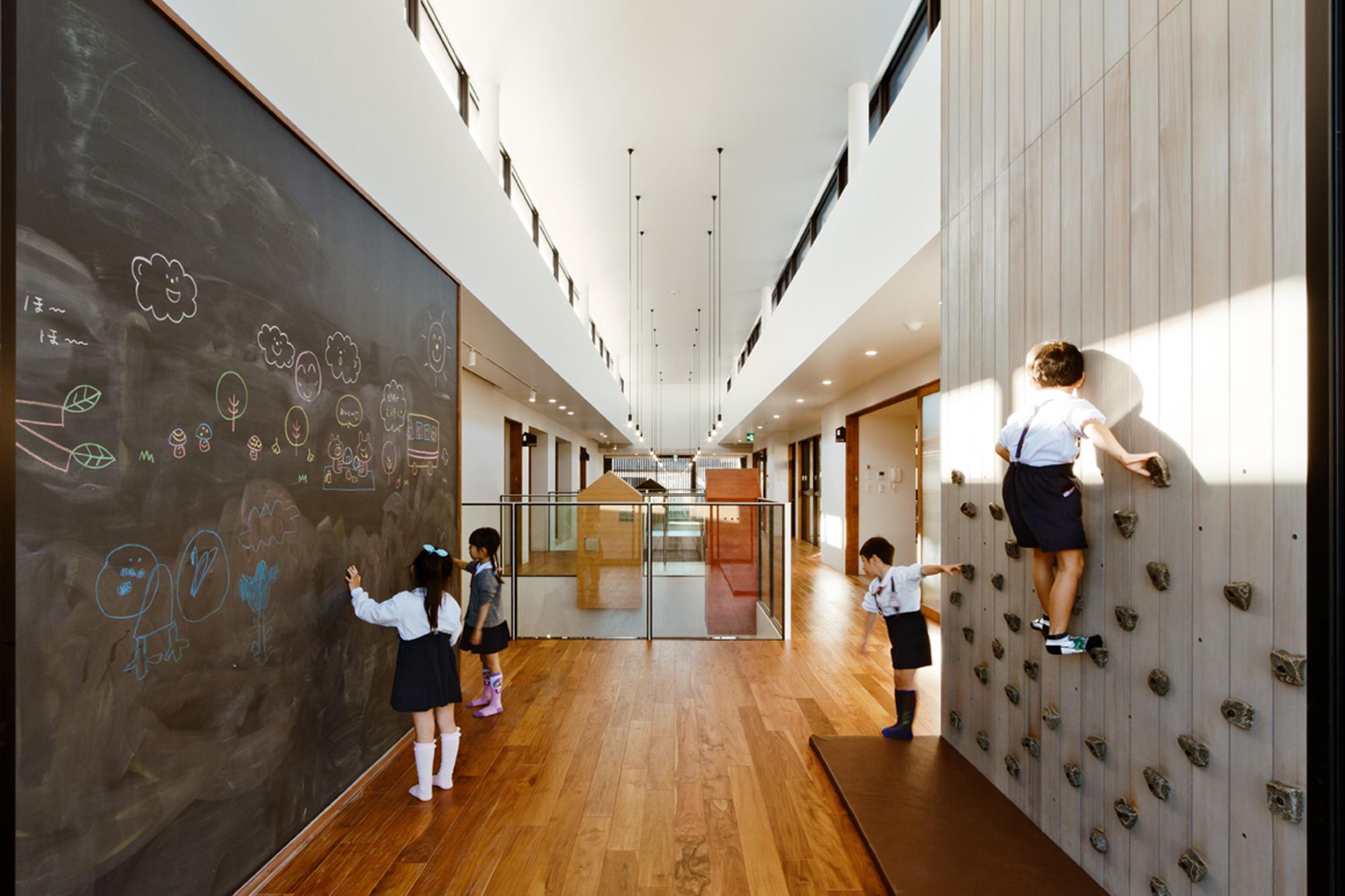 Kinder Garden: AN Kindergarten / HIBINOSEKKEI + Youji No Shiro