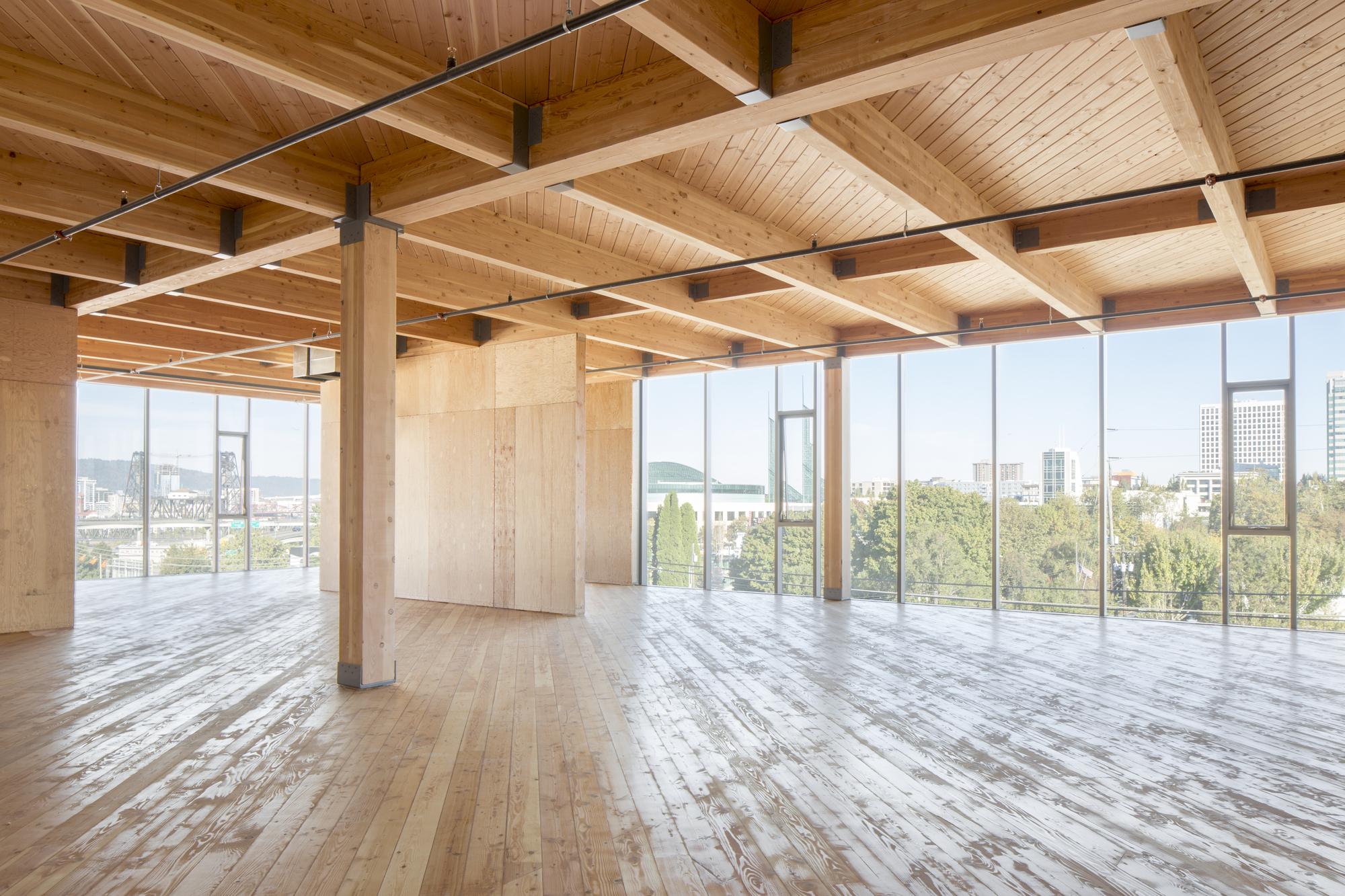 Commercial Wood Design: Framework; Portland, OR / Works Partnership  Architecture. Image