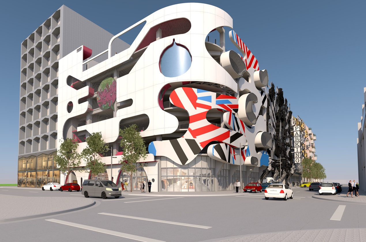 Miami Design District S Museum Garage Will Feature A