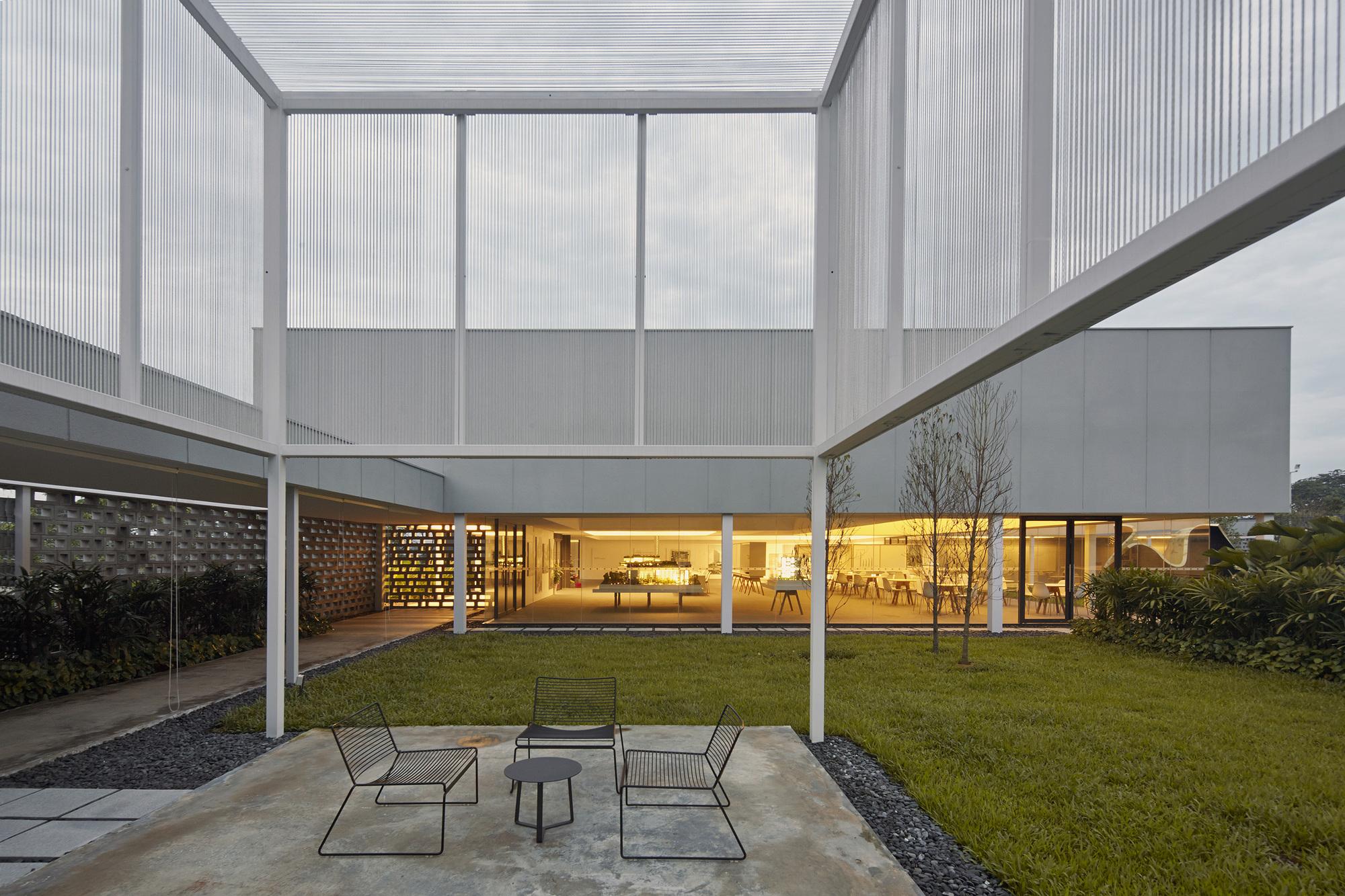 Industrial Estate Gallery Carverhaggard Archdaily