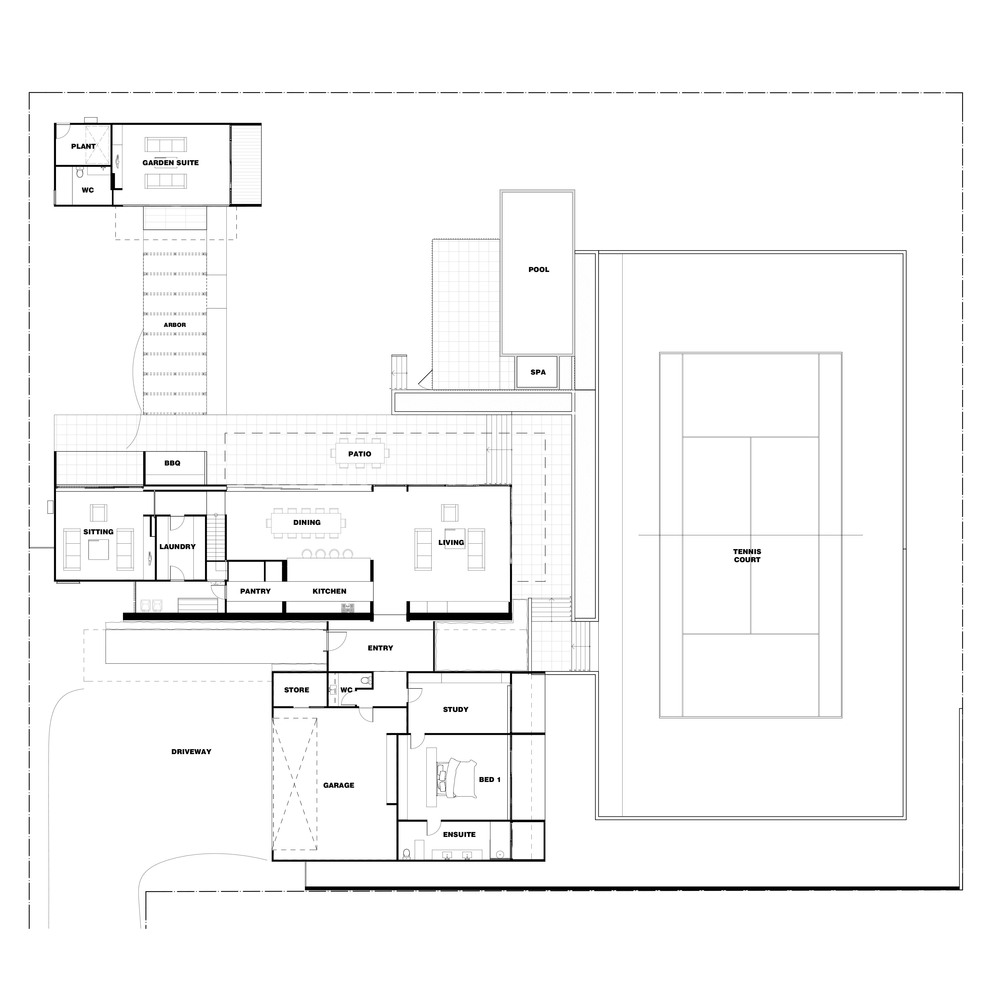 gallery of tranquility beach house wolveridge architects 13 tranquility beach house floor plan