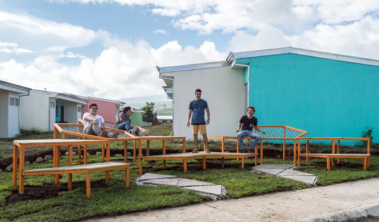 "Taller ""Entre Comunidad"": estudiantes construyen espacios recreativos en Costa Rica, © Daniel Guzmán Cordero"