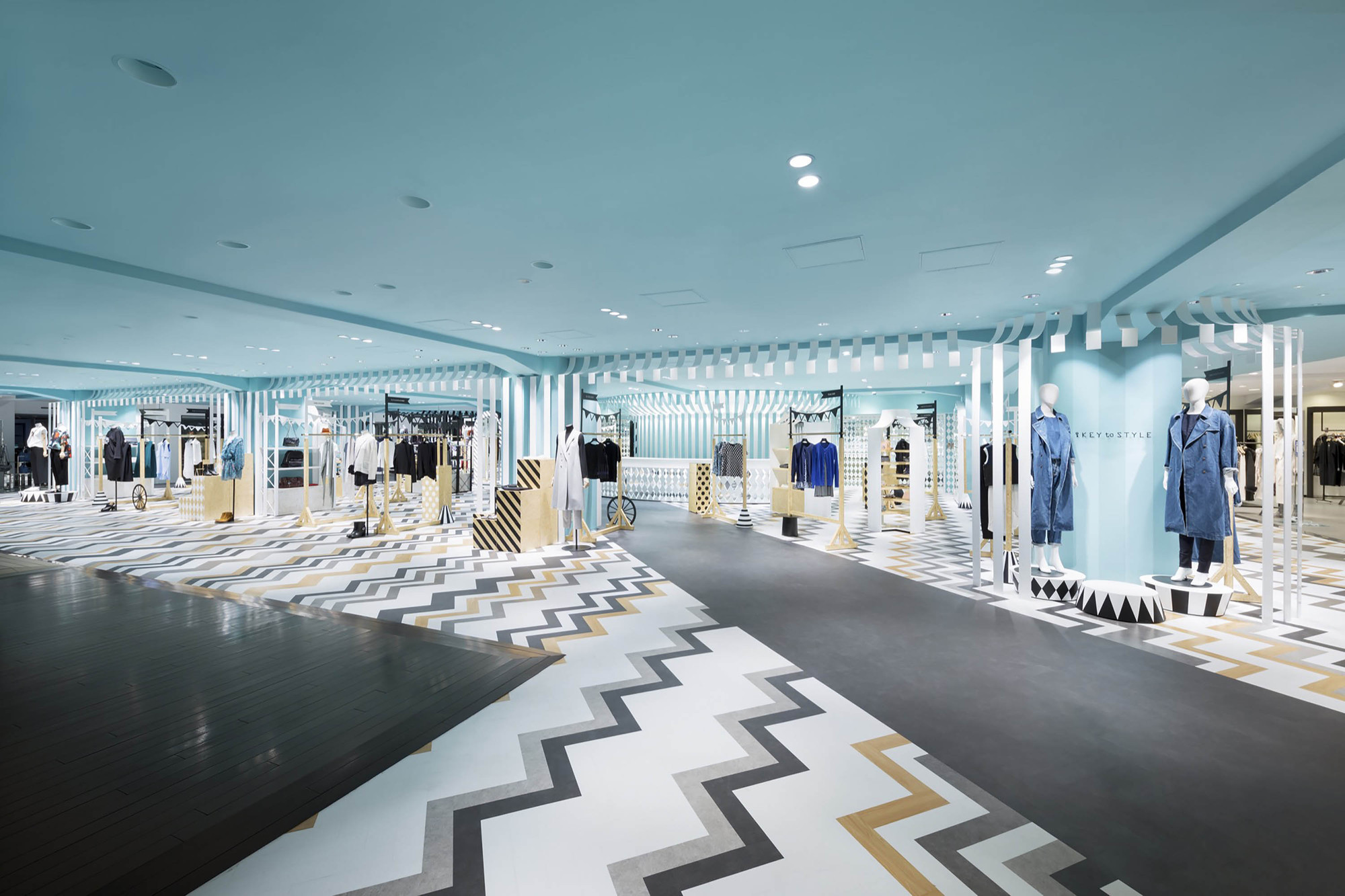Gallery of key to style nendo 13 for Interior design department