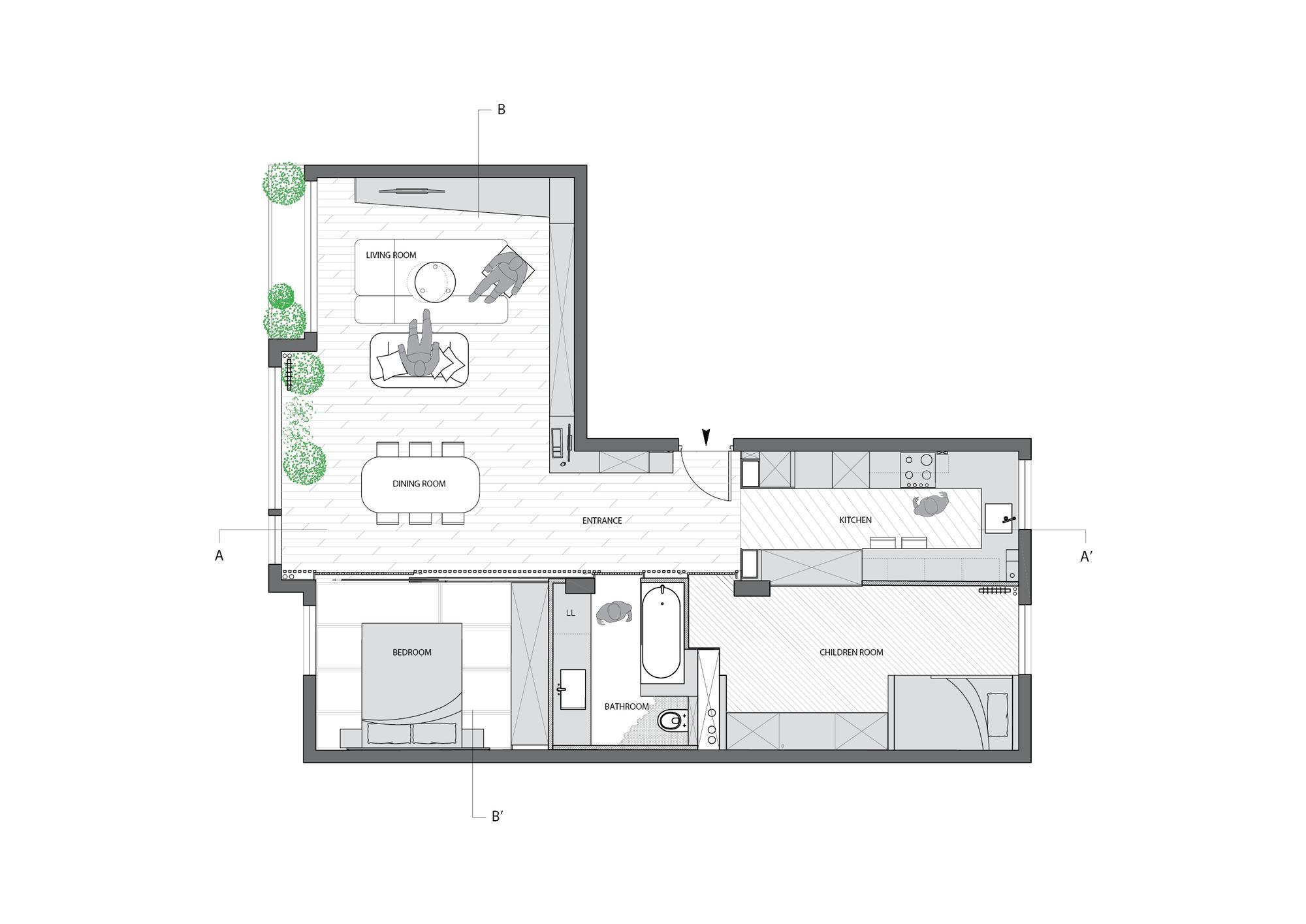 galeria de buttes chaumont glenn medioni 23. Black Bedroom Furniture Sets. Home Design Ideas