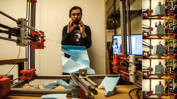 """Arquitecto chileno gana concurso internacional de fabricación digital """"Youfab Global Creative awards 2015"""", Cortesía de Youfab Global Creative awards 2015"""